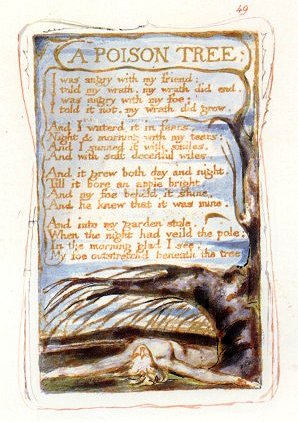 A Short Analysis of William Blake's 'A Poison Tree